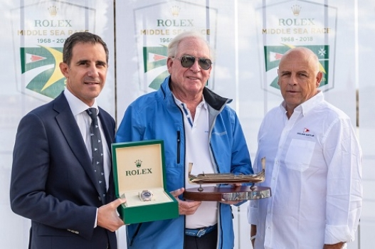 Rolex Middle Sea Race: the Bowling Alley