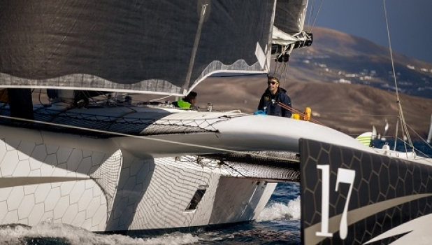 Rayon vert is halfway in RORC Transatlantic Race