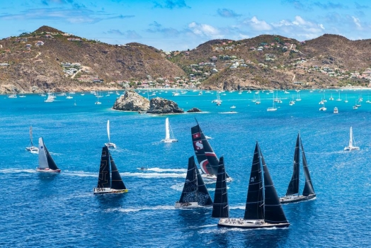 Les Voiles de St. Barth Richard Mille, Day 3. Round the Island Race