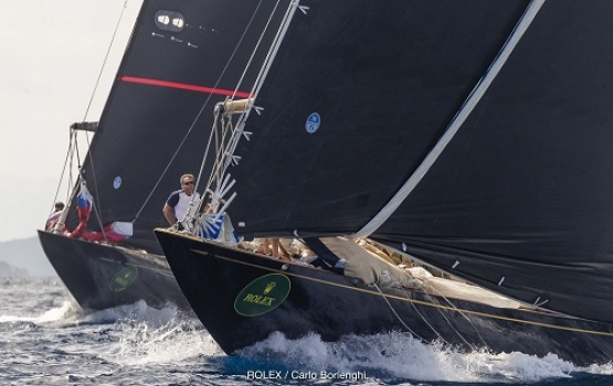 MOMO and H20 unbeaten after Day four - Maxi Yacht Rolex Cup