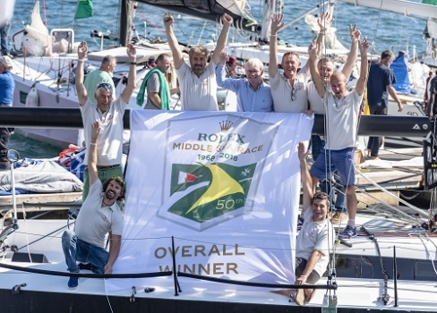 Rolex Middle Sea Race: Courrier Recommandé overall winner