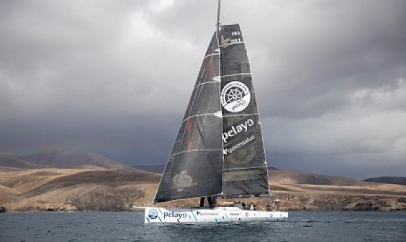 Green Dragon wins monohull line honours for the RORC Transatlantic Race