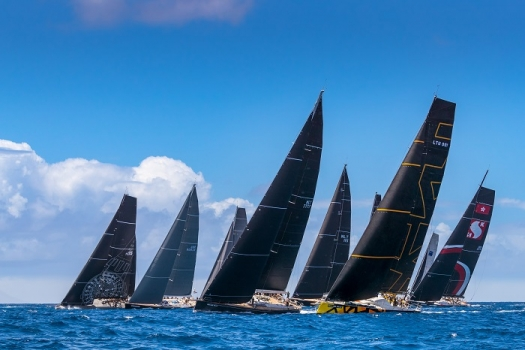 Les Voiles de St. Barth Richard Mille, Day 2. Patterns and protests